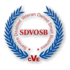 Service Disabled Veteran Owned Small Business Clear Logo